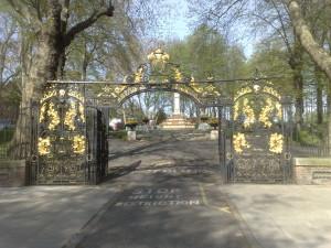 Gates to St. Pancras Churchyard